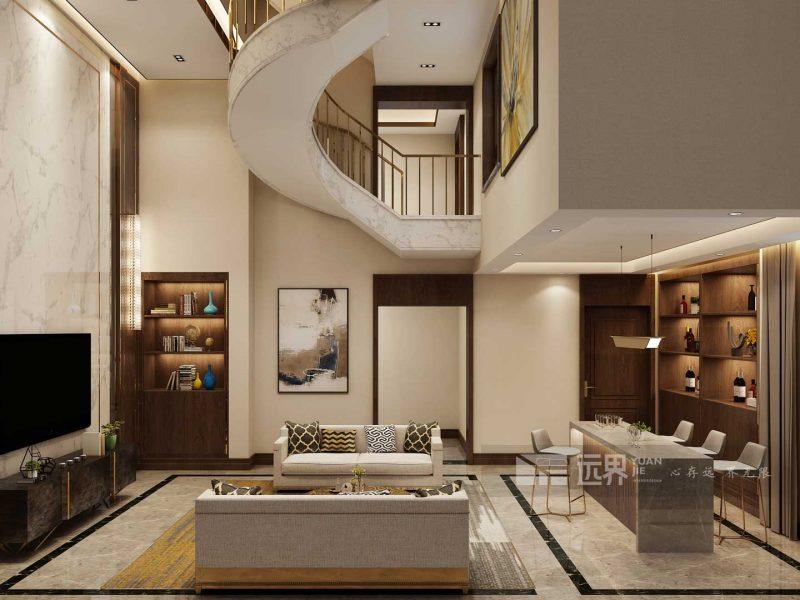 成都别墅装修设计:为什么我们主张做别墅全案设计?