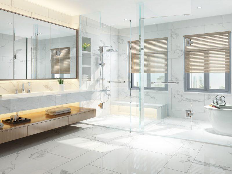 成都别墅装修地面选择地板好还是瓷砖好?
