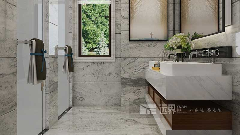 别墅装修卫生间的瓷砖该怎么选择?