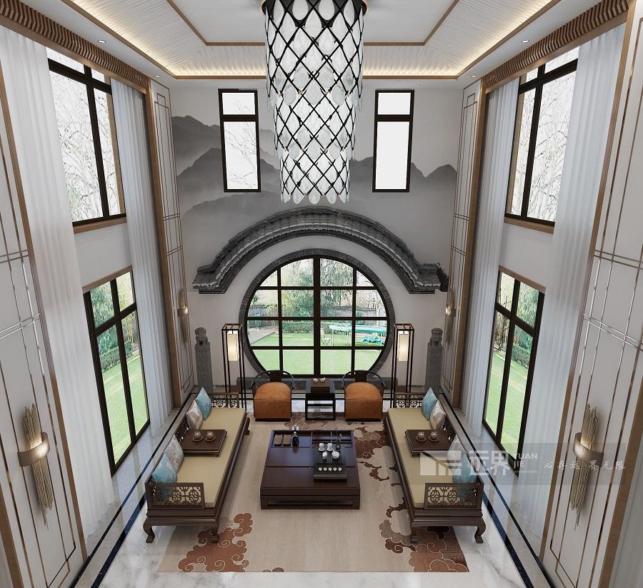 别墅装修新中式风格