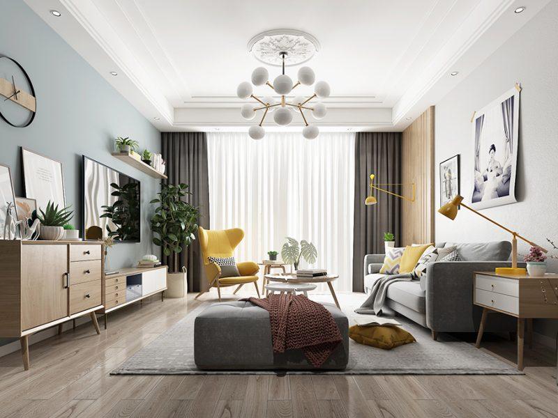 成都别墅装修中地面是用瓷砖好还是地板好?