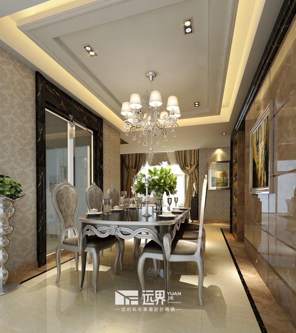 成都香碧歌庄园装修设计案例餐厅