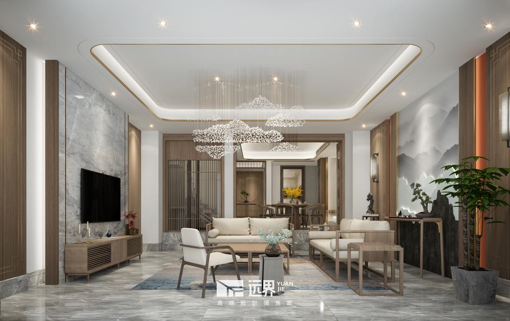 成都别墅设计新中式风格
