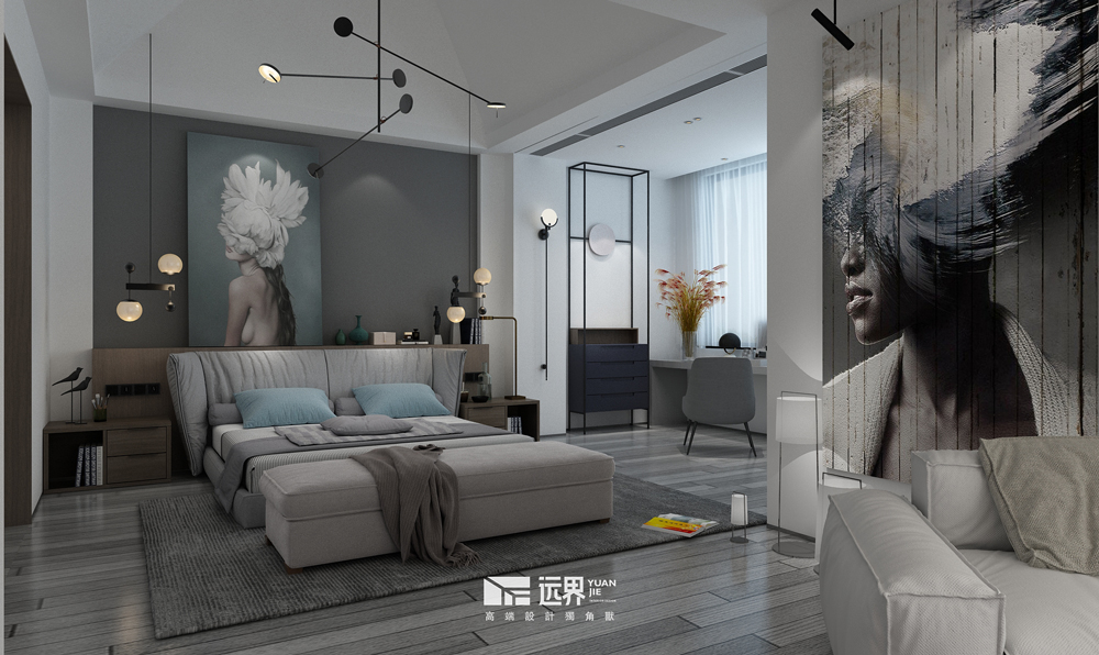成都别墅设计现代简约风格