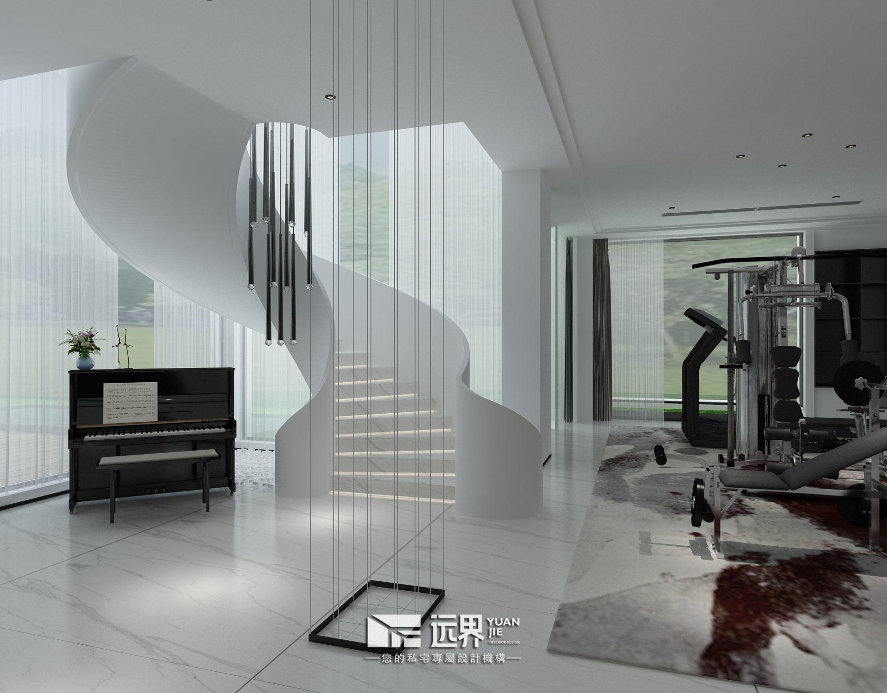 成都别墅装修设计案例效果图