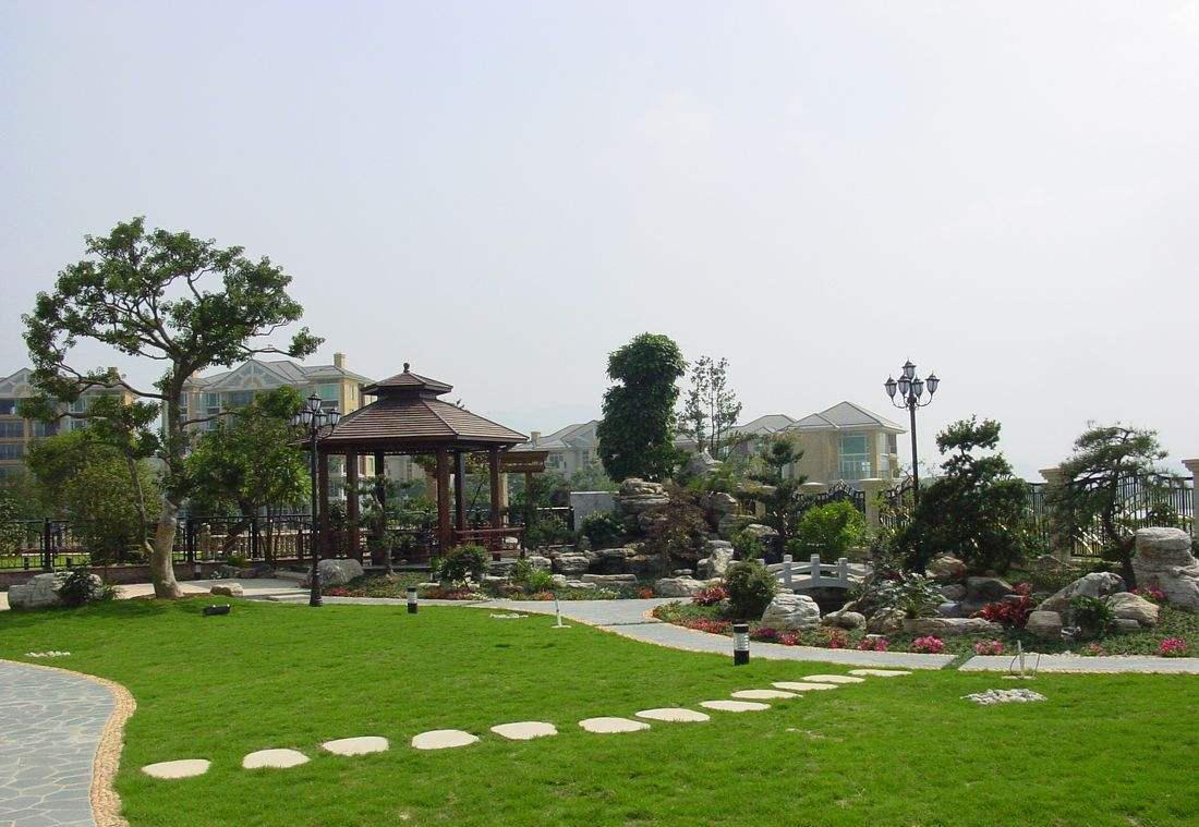 成都别墅装修花园设计案例